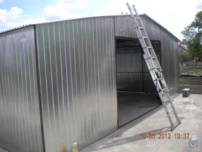 Plechová montovaná garáž: 1