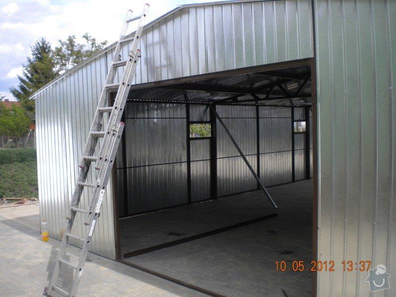 Plechová montovaná garáž: 3