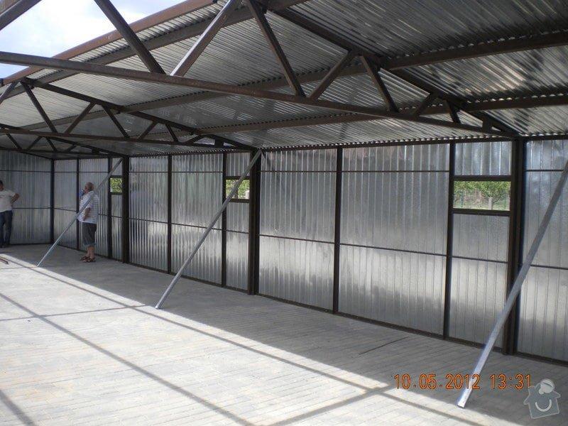Plechová montovaná garáž: 4