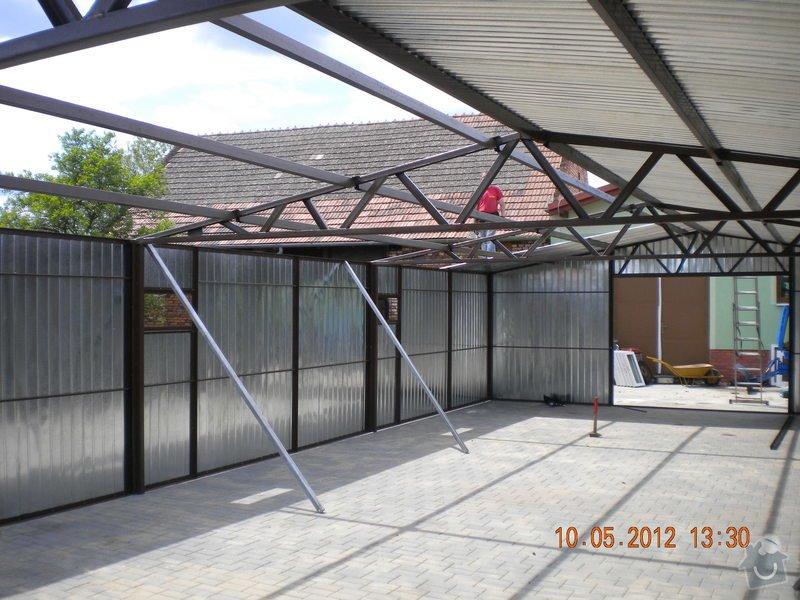 Plechová montovaná garáž: 5
