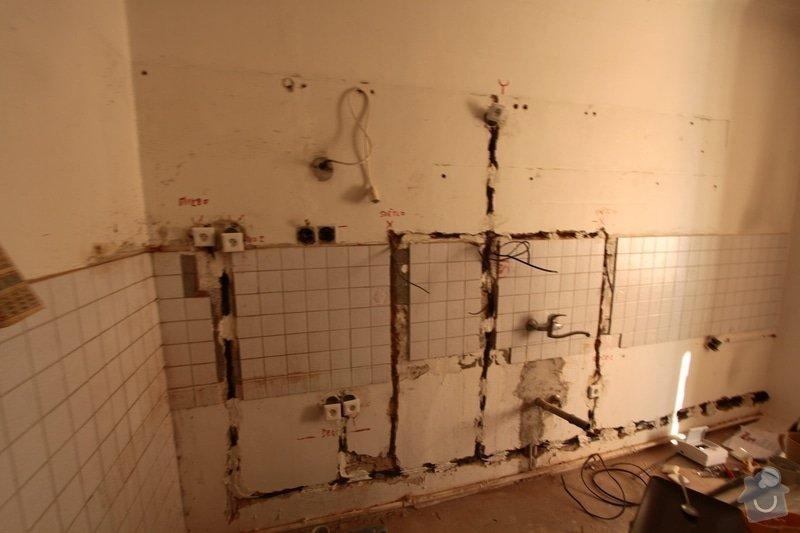 Zednické práce (Kuchyň, Chodba, WC): kuchan