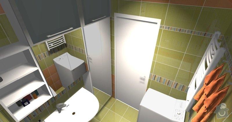 Rekonstrukce bytového jádra v 1. NP: pohled4