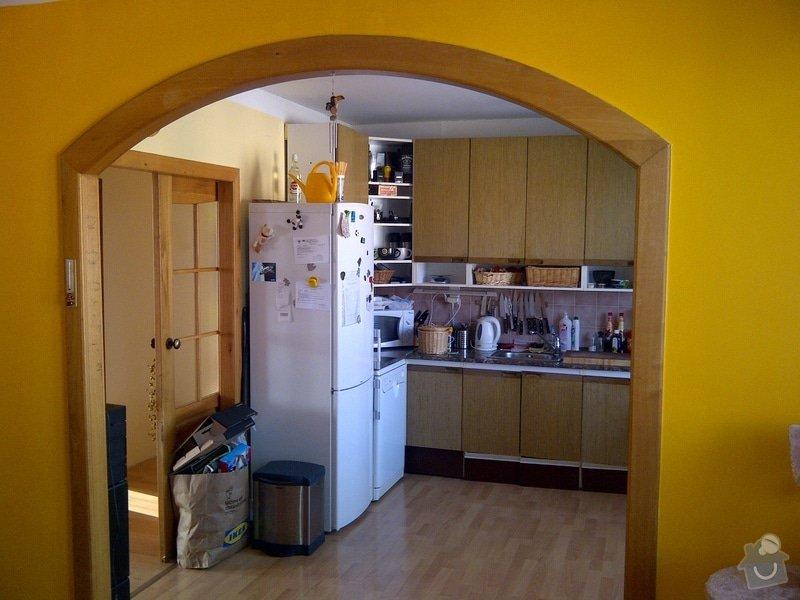 Rekonstrukce bytu, výroba kuchyňské linky: IMG-20120214-02499
