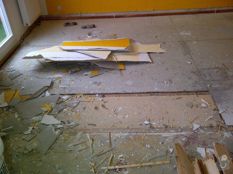 Rekonstrukce bytu, výroba kuchyňské linky: IMG-20120314-02865