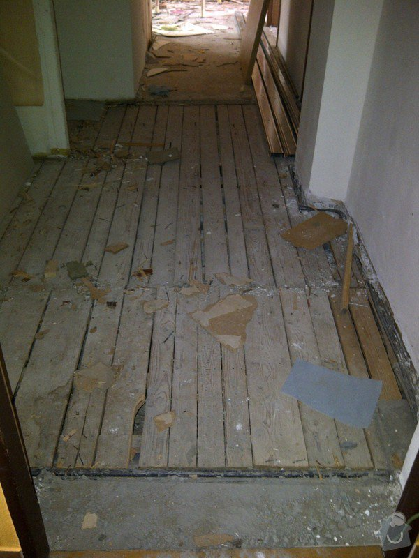 Rekonstrukce bytu, výroba kuchyňské linky: IMG-20120314-02869