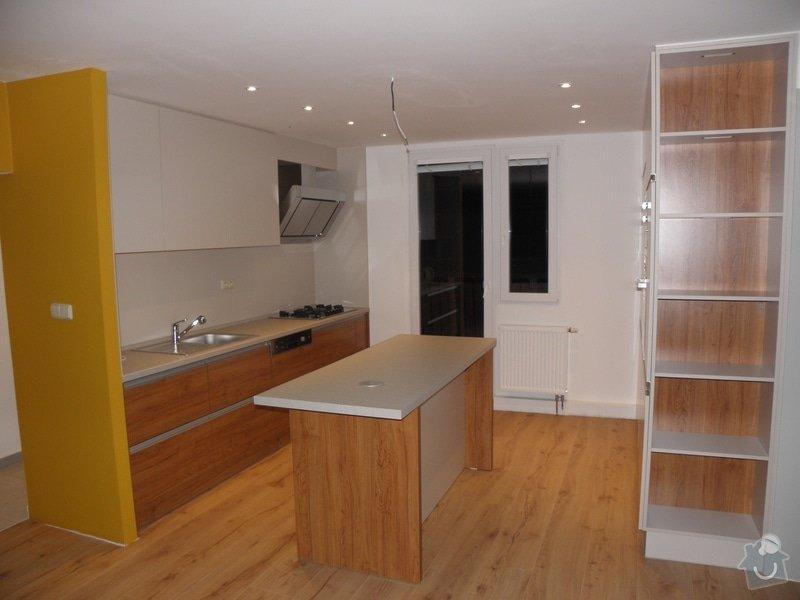 Rekonstrukce bytu, výroba kuchyňské linky: P5110366