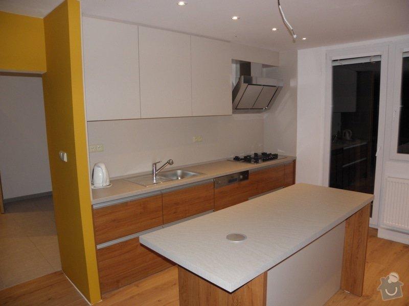 Rekonstrukce bytu, výroba kuchyňské linky: P5110367
