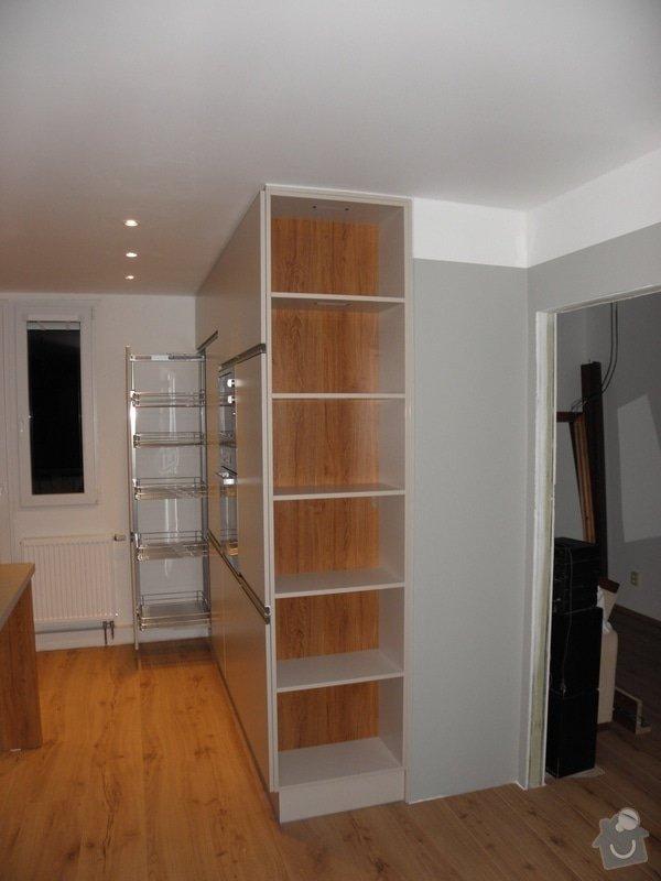 Rekonstrukce bytu, výroba kuchyňské linky: P5110381