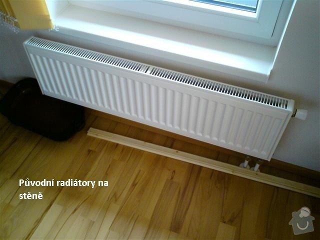 Montáž (výměna) radiátorů RADIK: puvodni