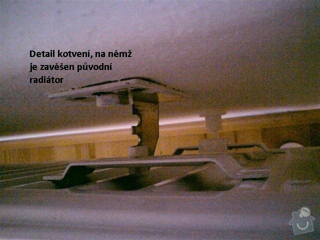 Montáž (výměna) radiátorů RADIK: kotveni