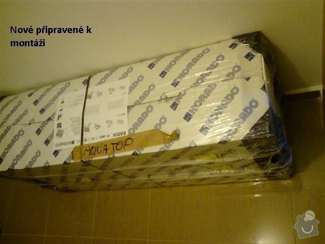 Montáž (výměna) radiátorů RADIK: nove_radiatory