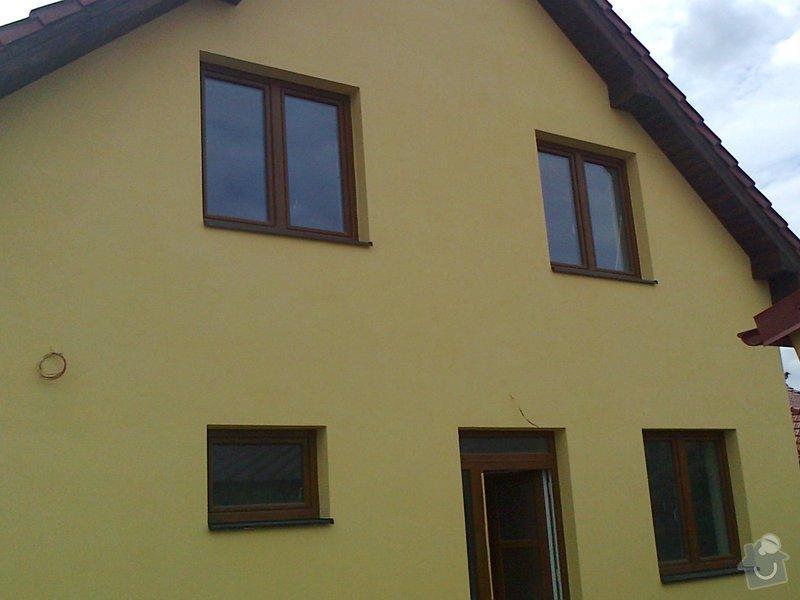 Nátěr fasády rodiného domu: Fotografie0086