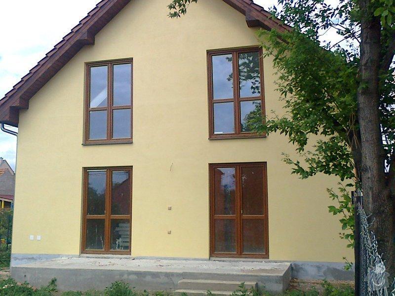 Nátěr fasády rodiného domu: Fotografie0088