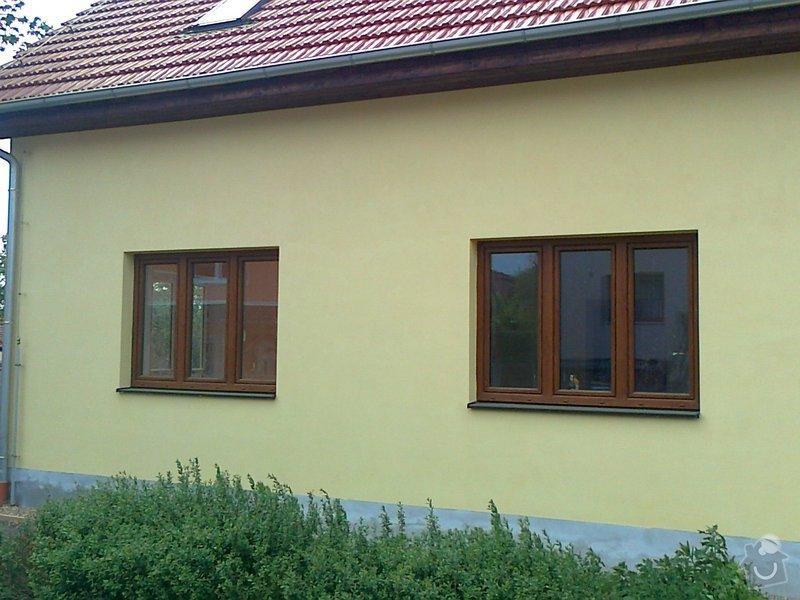 Nátěr fasády rodiného domu: Fotografie0087