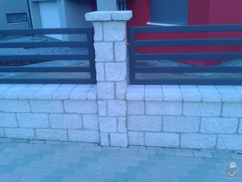 Výstavba plotu: Fotografie-0015