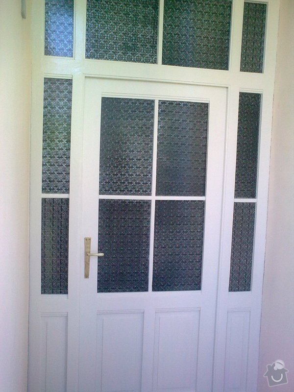 Repas dřevěných balkónových dvěří: Obraz0647
