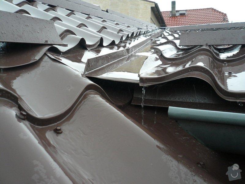 Oprava střešního úžlabí: 305