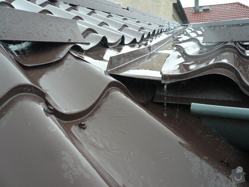 Oprava střešního úžlabí: 306