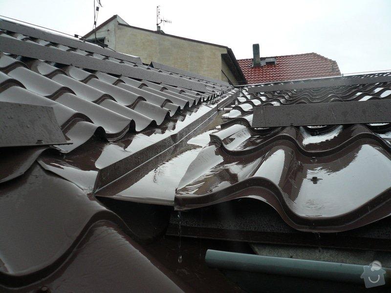 Oprava střešního úžlabí: 307