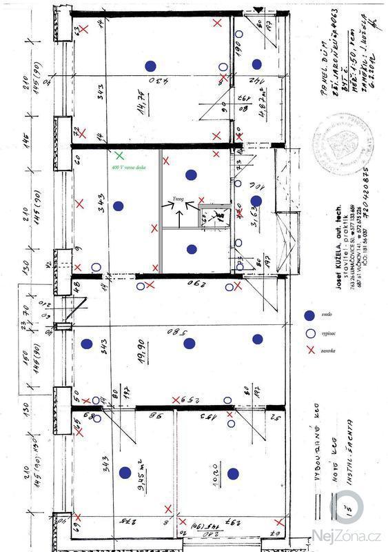 Elektroinstalace pro byt 80 m2: plan_bytu-_elektro