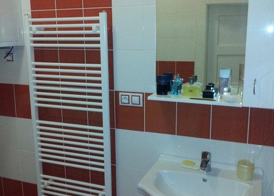 Rekonstrukce koupelny, obklady, dlažby