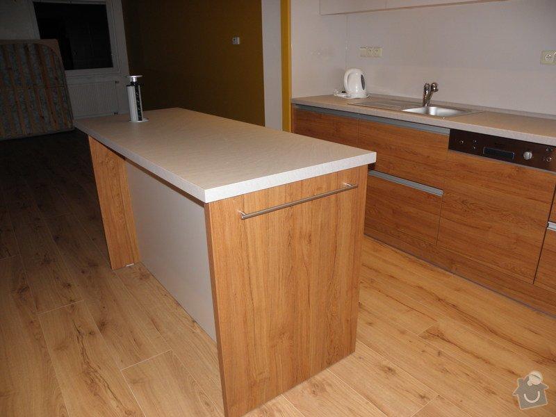 Rekonstrukce bytu, výroba kuchyňské linky: P5110372