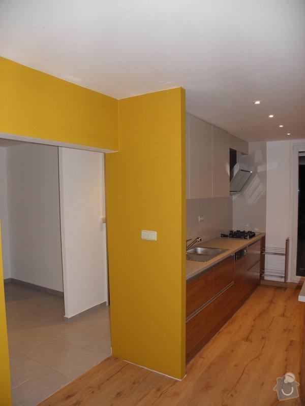 Rekonstrukce bytu, výroba kuchyňské linky: P5110382