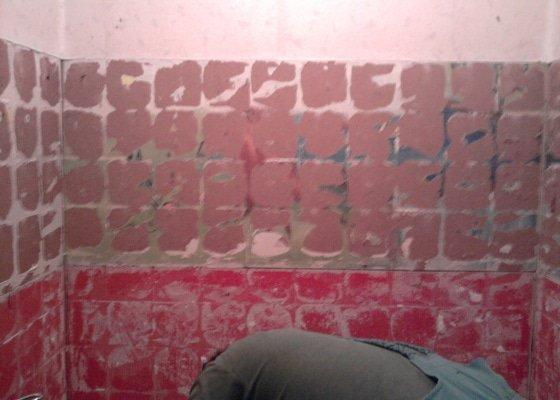 Rekonstrukce bytového jádra, kuchyně, koupelny a toalety.