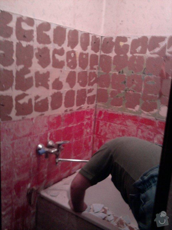 Rekonstrukce bytového jádra, kuchyně, koupelny a toalety.: Fotografie2213