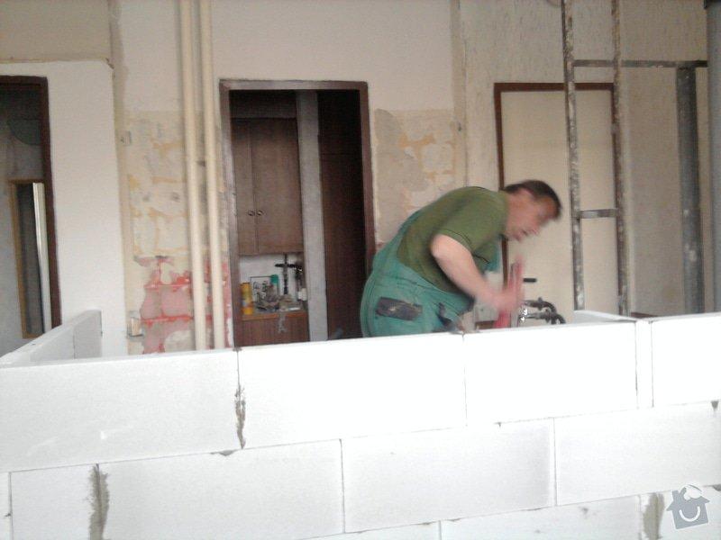 Rekonstrukce bytového jádra, kuchyně, koupelny a toalety.: Fotografie2218