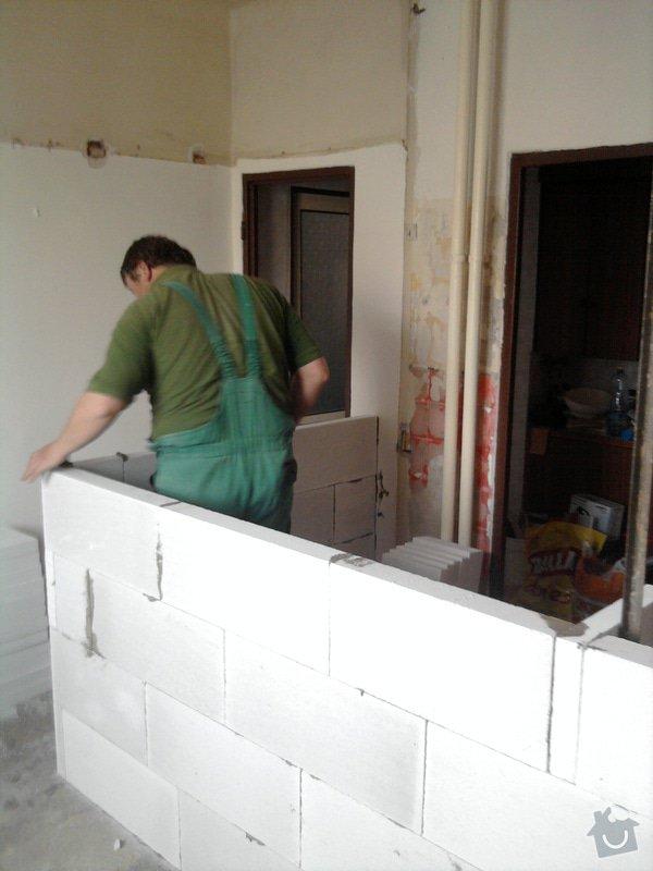 Rekonstrukce bytového jádra, kuchyně, koupelny a toalety.: Fotografie2219