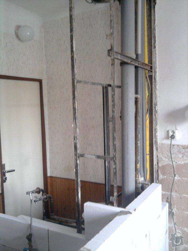 Rekonstrukce bytového jádra, kuchyně, koupelny a toalety.: Fotografie2220