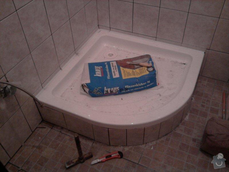 Rekonstrukce bytového jádra, kuchyně, koupelny a toalety.: Fotografie2315