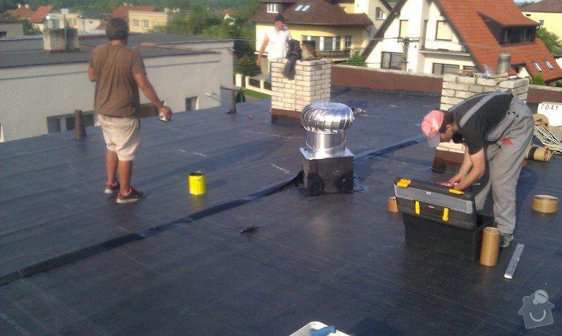 CLIMATIZER PLUS do dutiny dvouplášťové střechy: IMAG0521