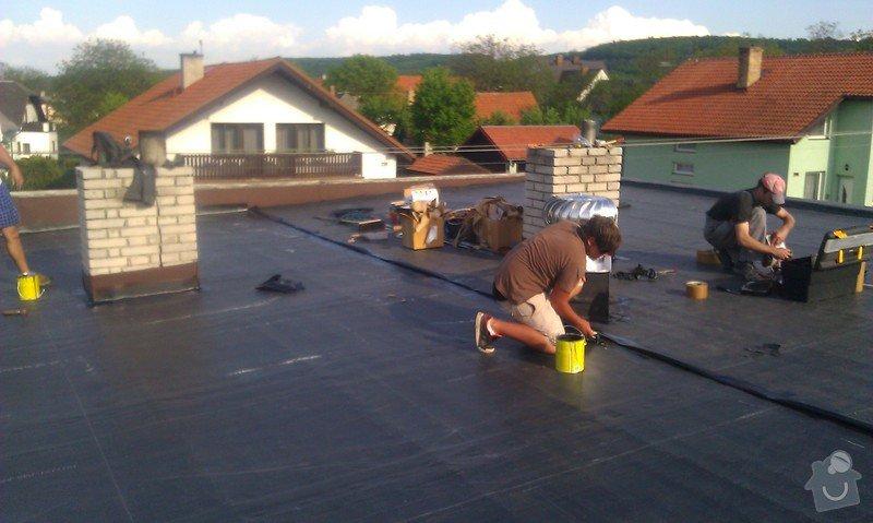 CLIMATIZER PLUS do dutiny dvouplášťové střechy: IMAG0522