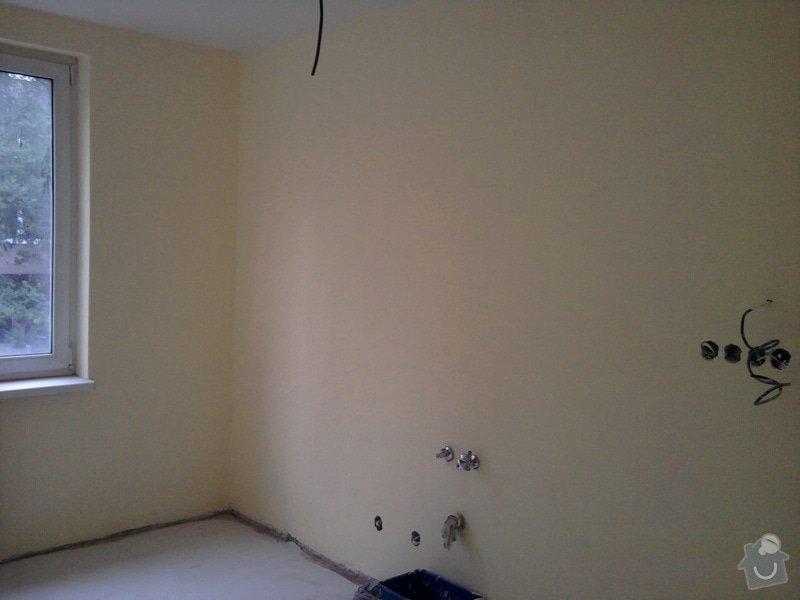 Renovace omítek a stropů,štukování,malířské práce,nátěry radiátorů v bytě 3+1: Fotografie0013