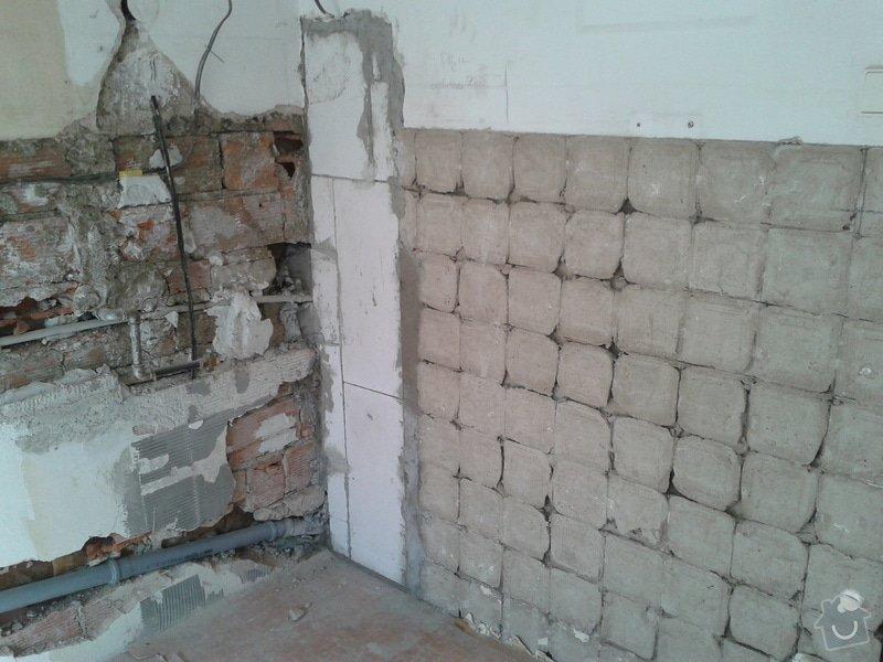 Renovace omítek a stropů,štukování,malířské práce,nátěry radiátorů v bytě 3+1: Fotografie-0044