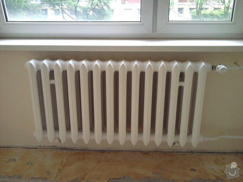 Renovace omítek a stropů,štukování,malířské práce,nátěry radiátorů v bytě 3+1: Fotografie0002