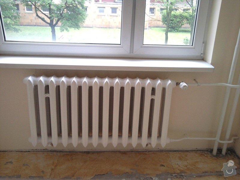 Renovace omítek a stropů,štukování,malířské práce,nátěry radiátorů v bytě 3+1: Fotografie0017