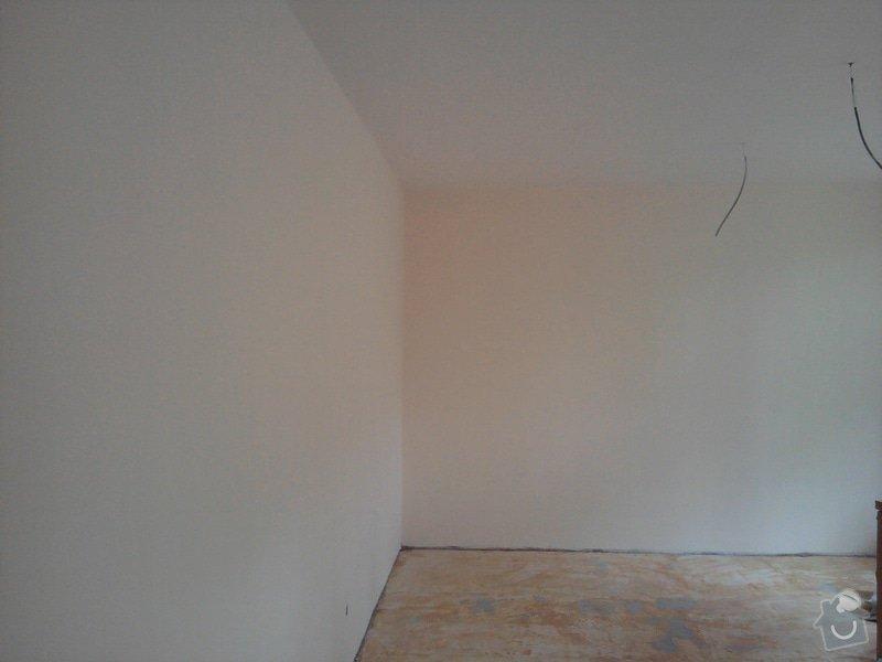 Renovace omítek a stropů,štukování,malířské práce,nátěry radiátorů v bytě 3+1: Fotografie0015