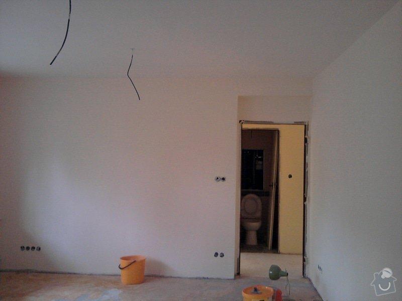 Renovace omítek a stropů,štukování,malířské práce,nátěry radiátorů v bytě 3+1: Fotografie0016