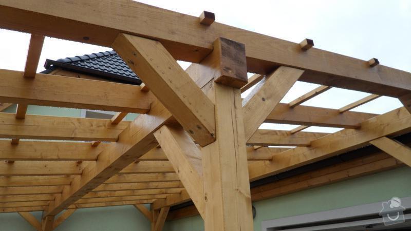 Pergola- garážové stání: SAM_2437_800x450