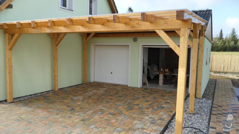 Pergola- garážové stání: SAM_2445_800x450