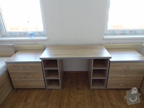 Vestavná skříň ,vybavení bytu: komody