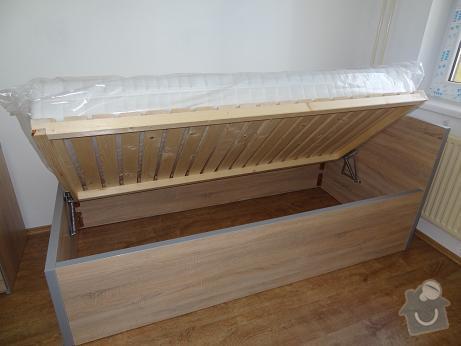 Vestavná skříň ,vybavení bytu: postel_2