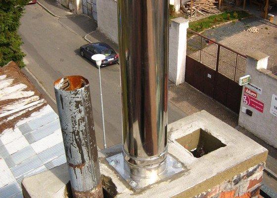 Vložkování pro plynový kotel