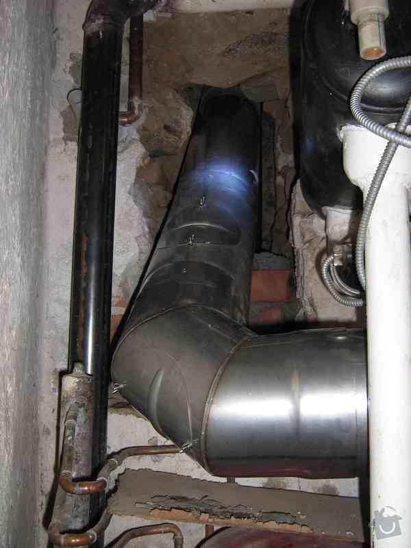Obnova a vložkování spalinové cesty: instalace_kourovodu