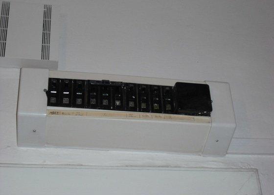 Výměna elektro rozvaděče v bytě