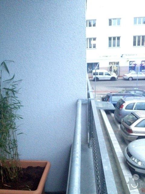 Zasíťování balkonu 2 x 7,2 m: balkon3