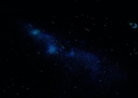 Hvězdný strop se šikminou